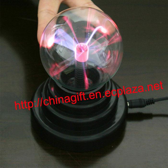 USB Plasma Ball Sphere Desktop Decorating Lamp