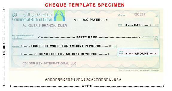 Cheque Printer Cheque Printing software Cheque Printing Solution ...