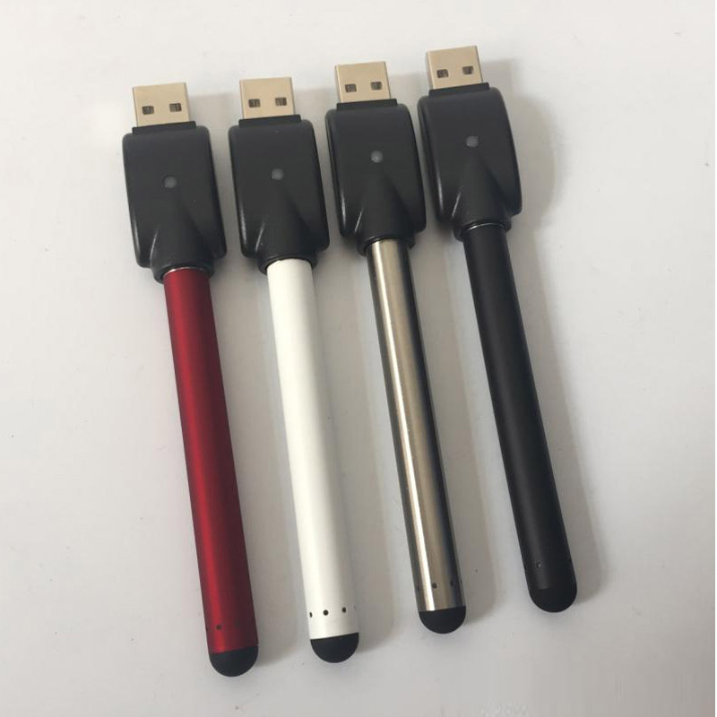 Hot product buttonless /no button stylus style 280 mah 510 thread slim touch battery