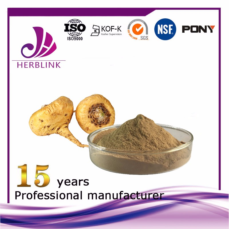 Maca Root Powder Extract 20:1, Macamides 60%
