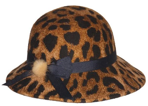100% WOOL FELT PUPLE BOWLER HAT
