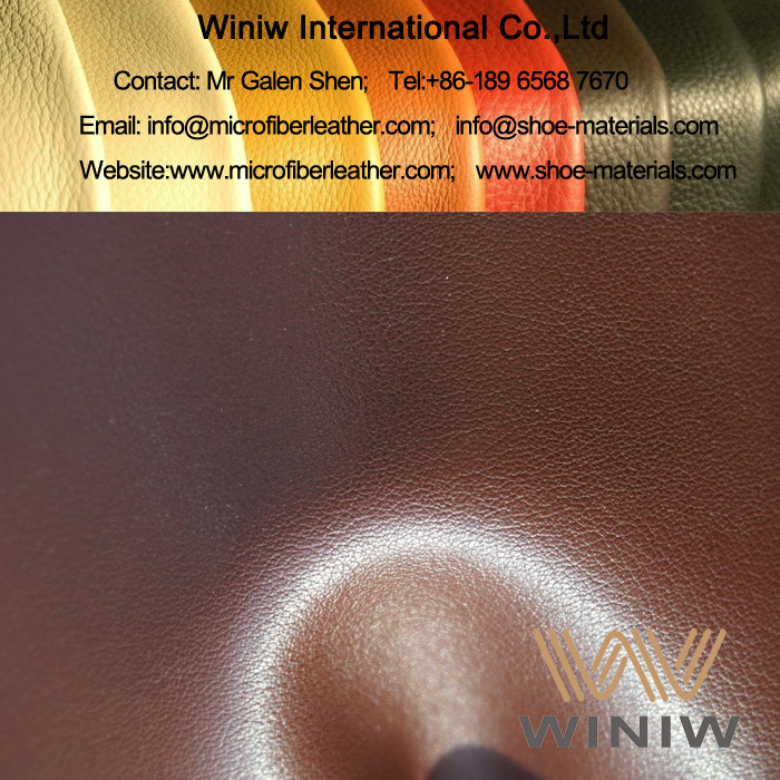 Microfiber PU Leather for Industrial Safety Shoes and Boots