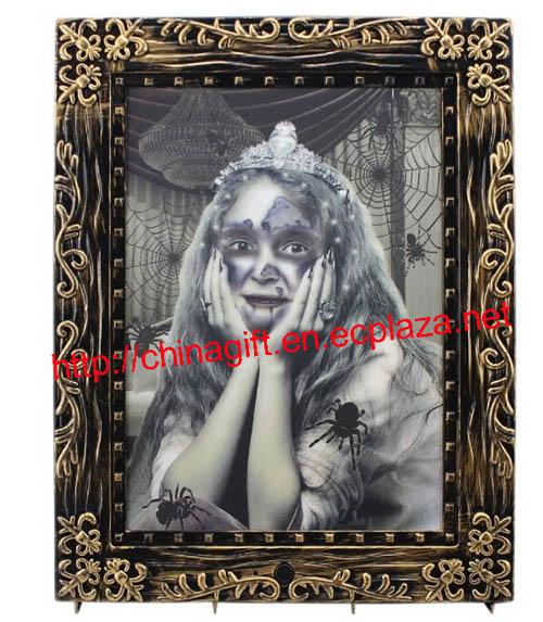 Sound control luminescence terror allochroic girl magic photo frame