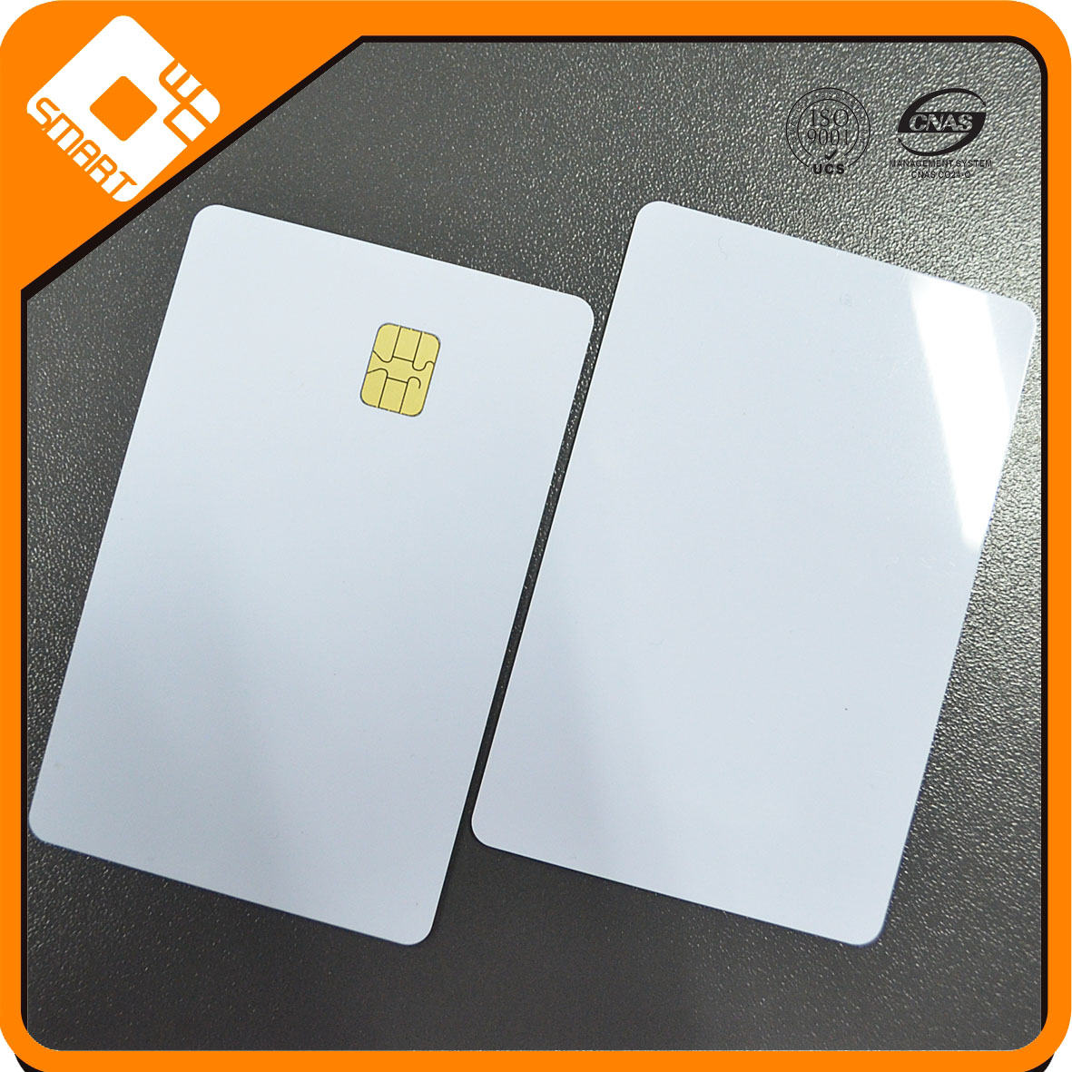 PVC Plastic Blank Chip Cards with 4428 chip