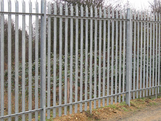 Hot dip galvanized lattice steel fence for telecommunication tower site