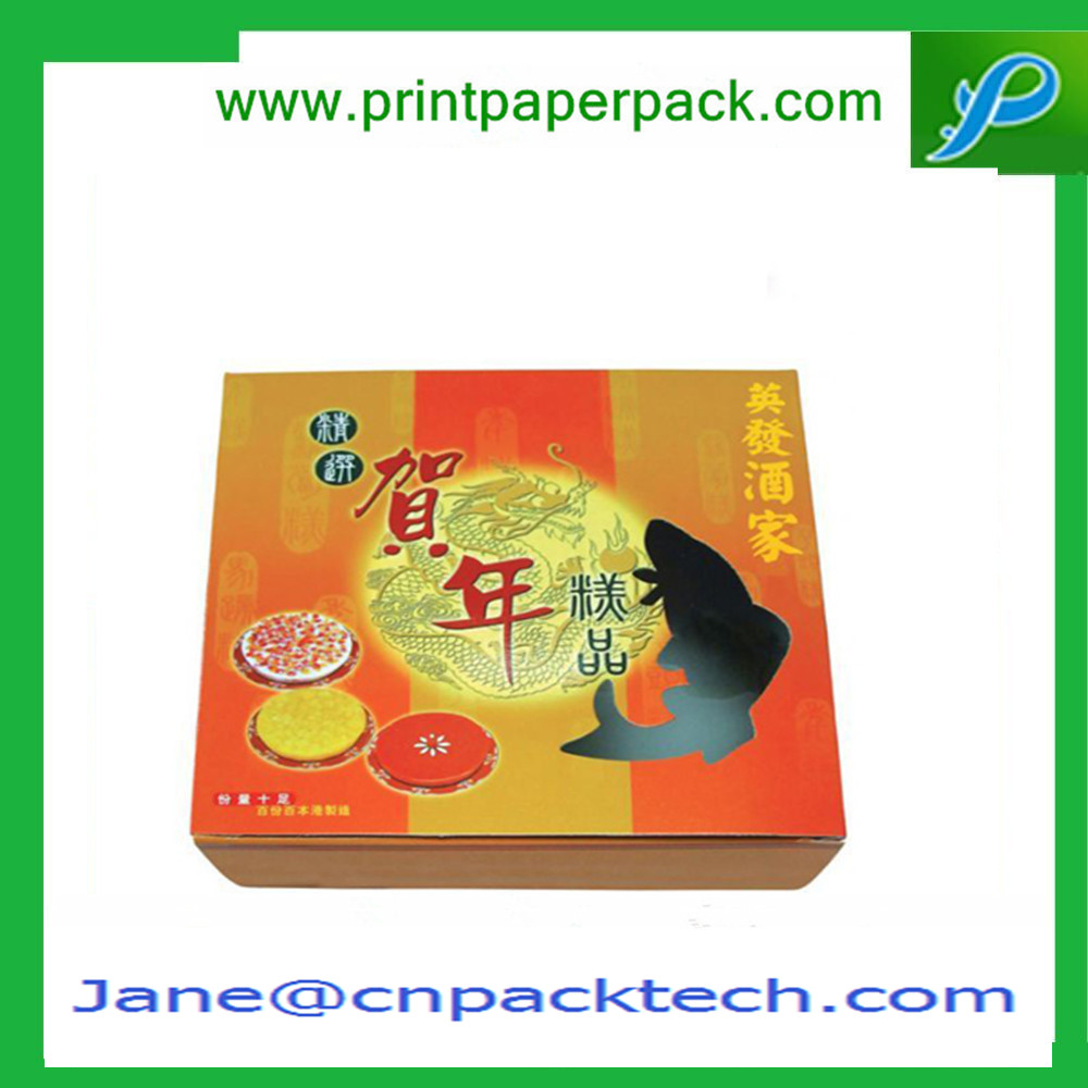 Custom Printing Mooncake Packaging Boxes Storage Boxes Paper Gift Boxes
