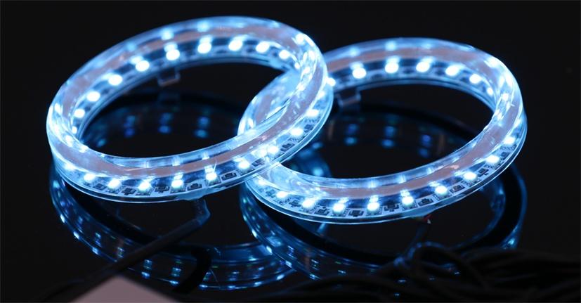 CCFL angel eye led halo ring app control rgb angel eyes