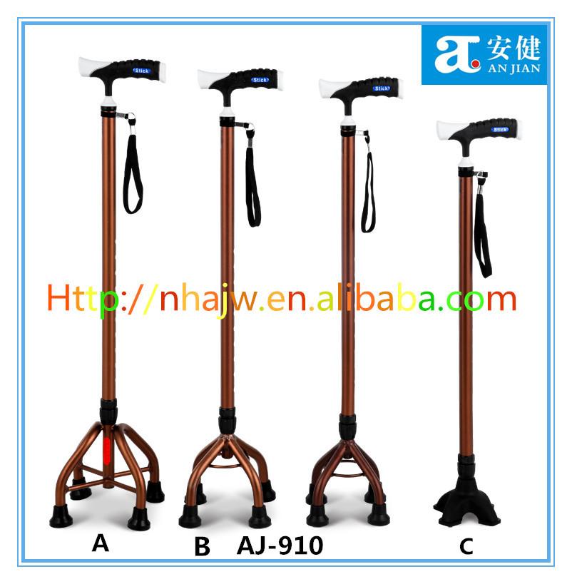 baston de 4 puntos base grande walking stick