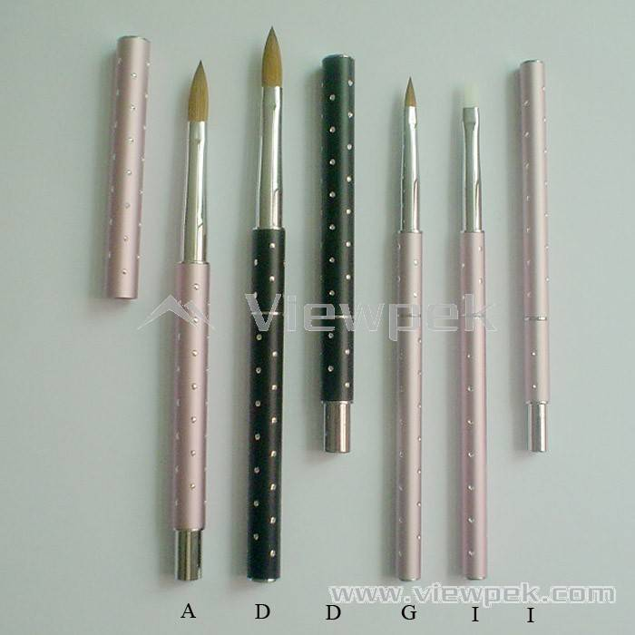 Acrylic Nail Brush,Nail Art Brush,Kolinsky Sable Brushes - Viewpek ...