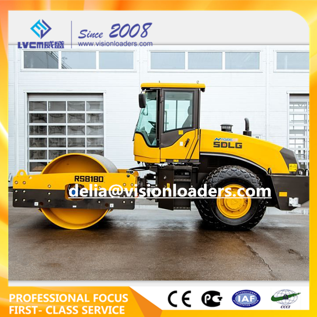 SDLG Vibratory Road Roller RS8180 China RS8180 Road Roller for sale