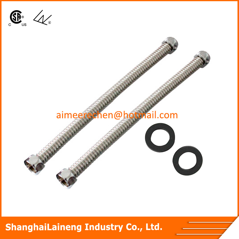 flexible stainless steel water hose