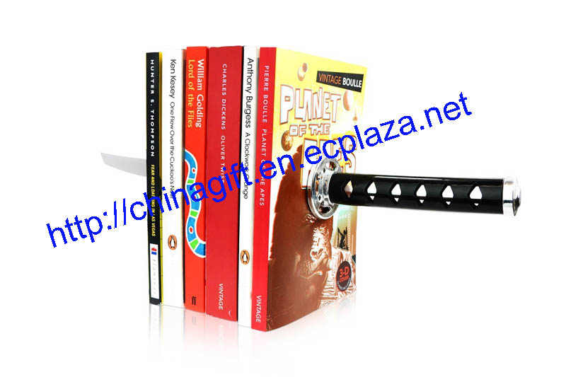 Katana Samurai Sword Magnetic Bookends
