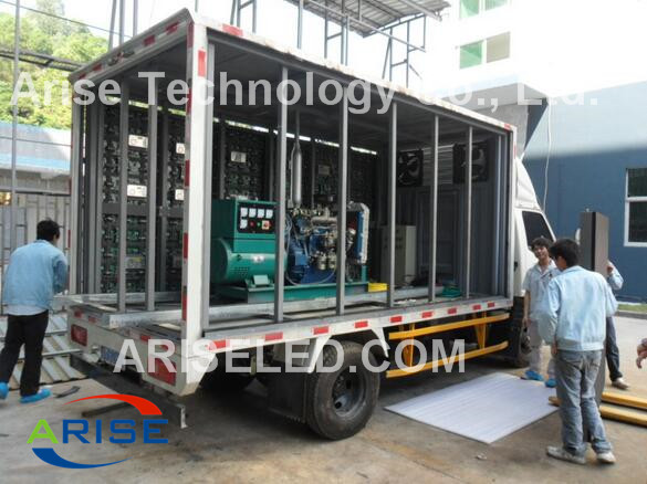 Portable Outdoor Led Signs Truck Mounted Mobile LED Screen Display Trailers P5 P6 P8 P10 P12 P16