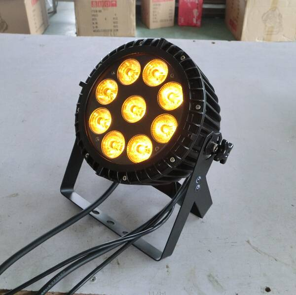9X15W RGBAW outdoor light,IP65 outdoor party light,IP65 led par cans