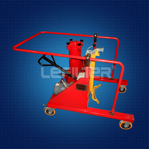 HYDAC protable oil filter cart