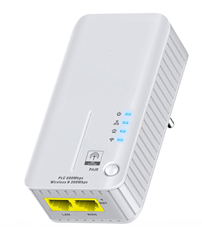 600M Power Line Adapter with 300M WiFi