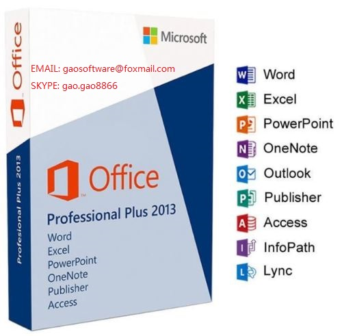 office 2013 pro professional plus key 100% online activation