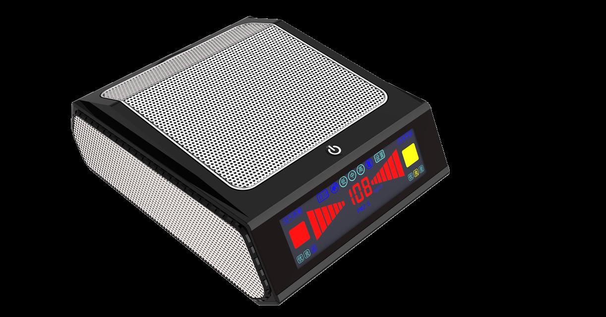 Car air purifier, HEPA LAC7001