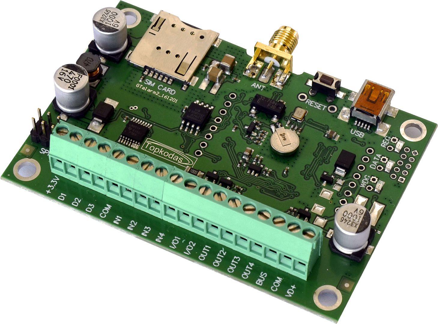 Sensor alarm, monitoring and control system