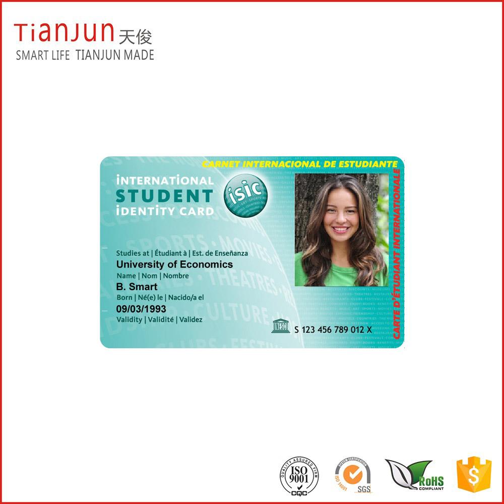 Custom Design PVC Facebook ID Card