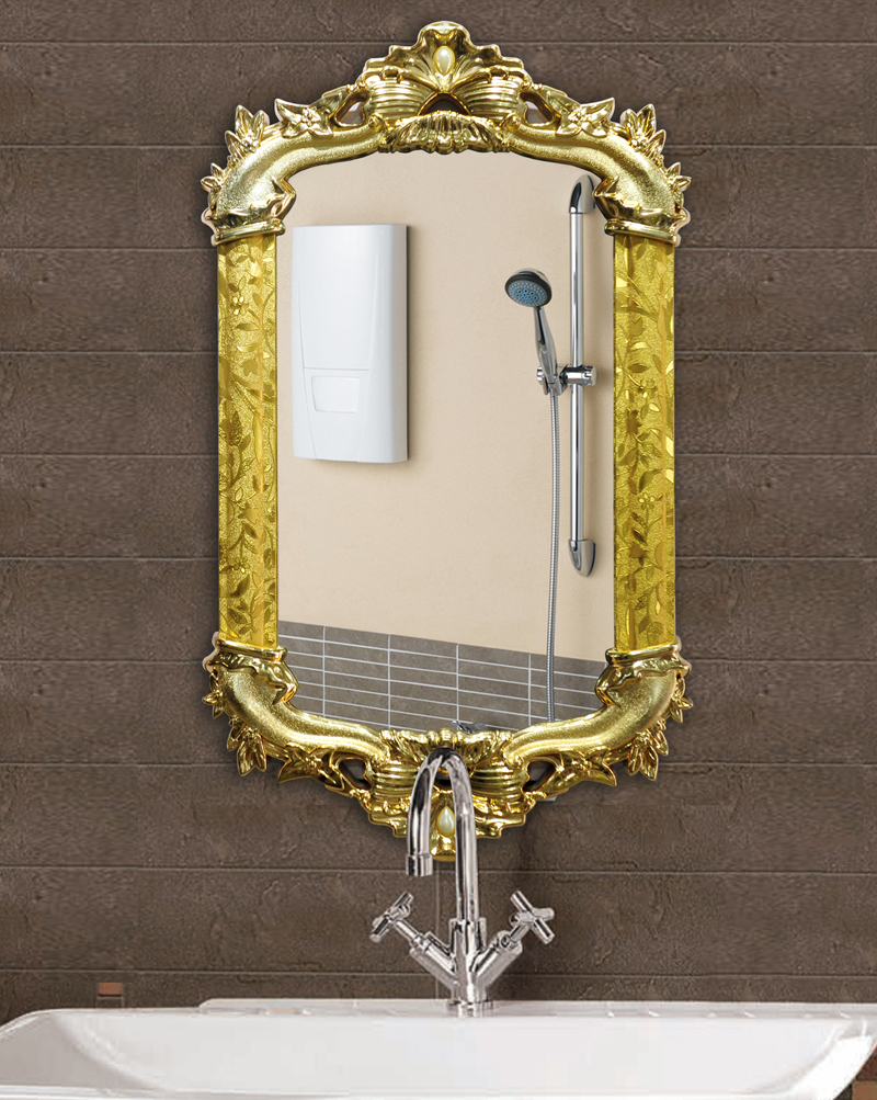 Eropean Style PVC frame Wall mirror/Hanging mirror/Bedroom mirror/Decorative mirror