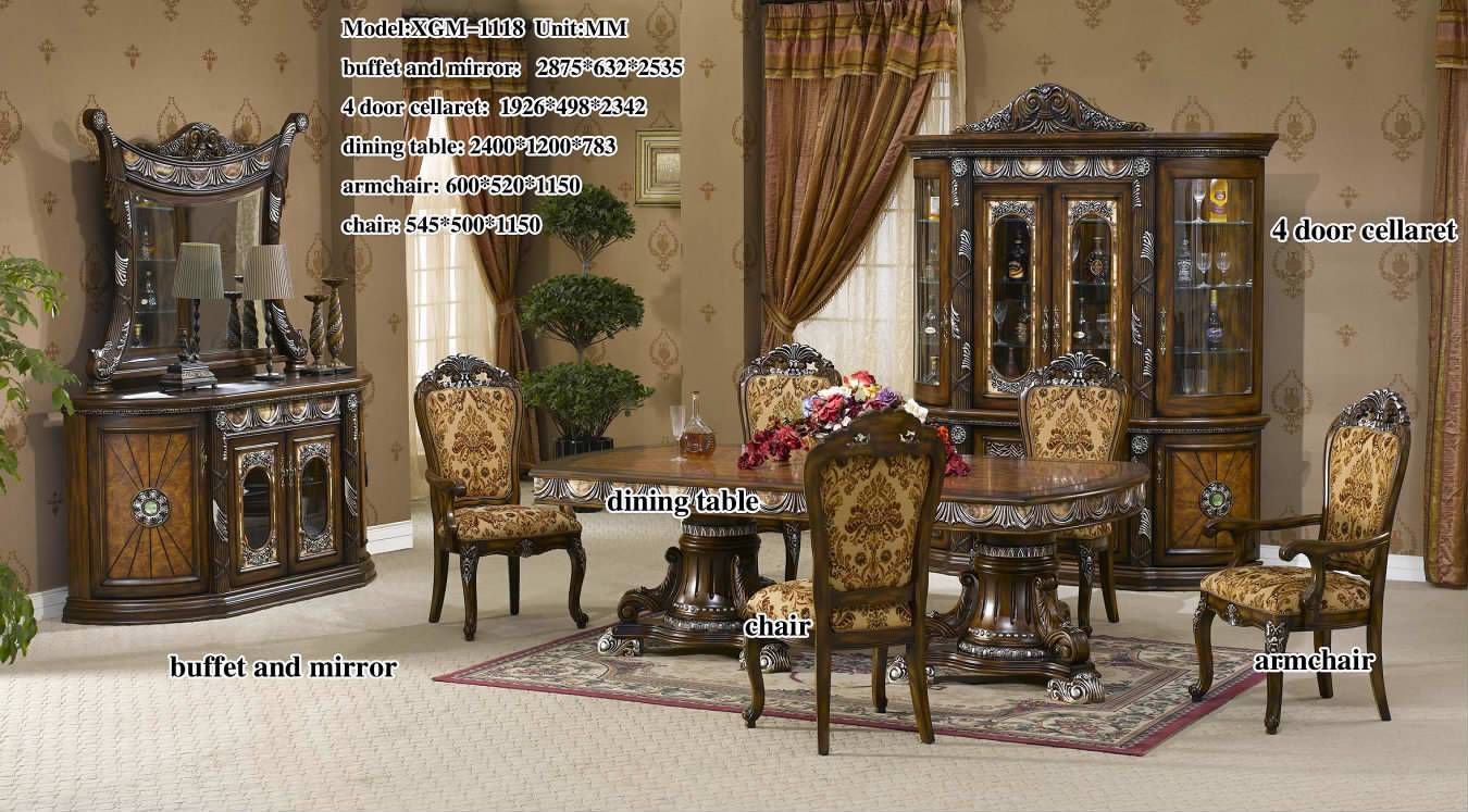 middle east style dining room - foshan shunde excellence years