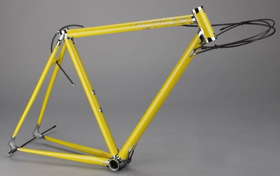 Bike Frames made of carbon aluminum and steel and accessories