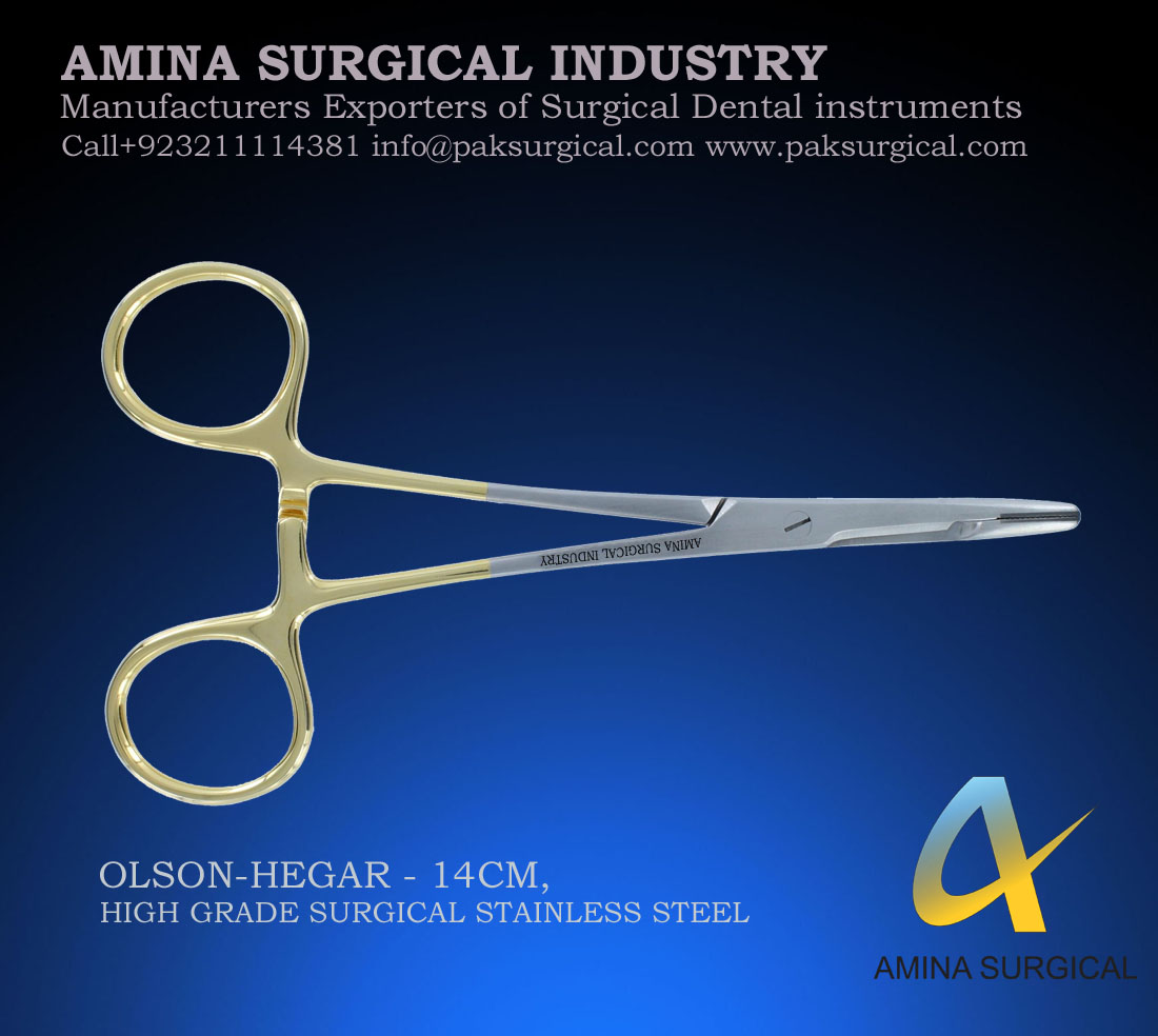 OLSON HEGAR DENTAL SURGICAL INSTRUMENTS