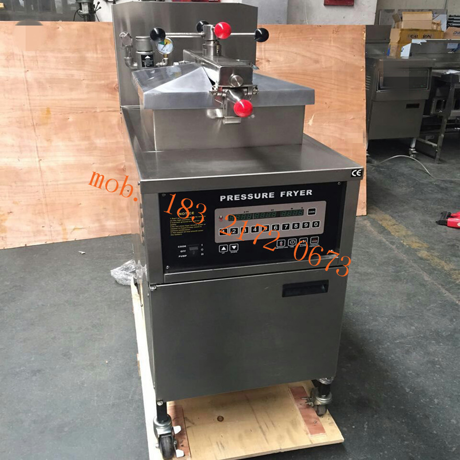 commercial henny penny stainless steel kfc fried chicken electric pressure fryer machine with filter