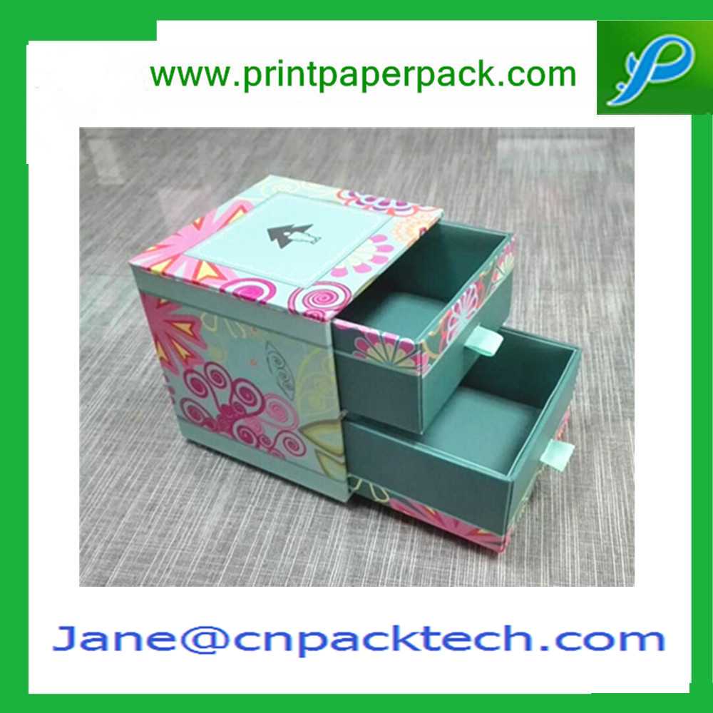 Hot Sales Drawer Type Boxes Storage Box Custom Paper Box