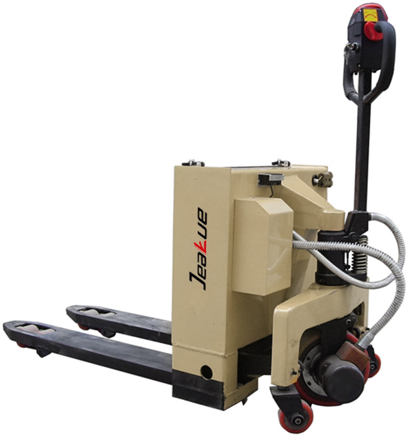 Newest Economic 3T Half Electric Pallet Truck With German Design