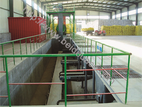 Belt-scale-batching Fertilizer Blending Line