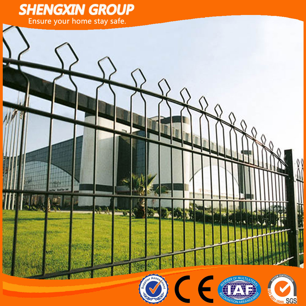 China Supplier Double Wire Fence with Arched Top