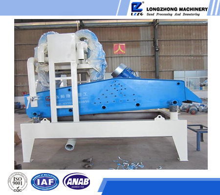 Tailling recycling machine, Fine sand extracting machine