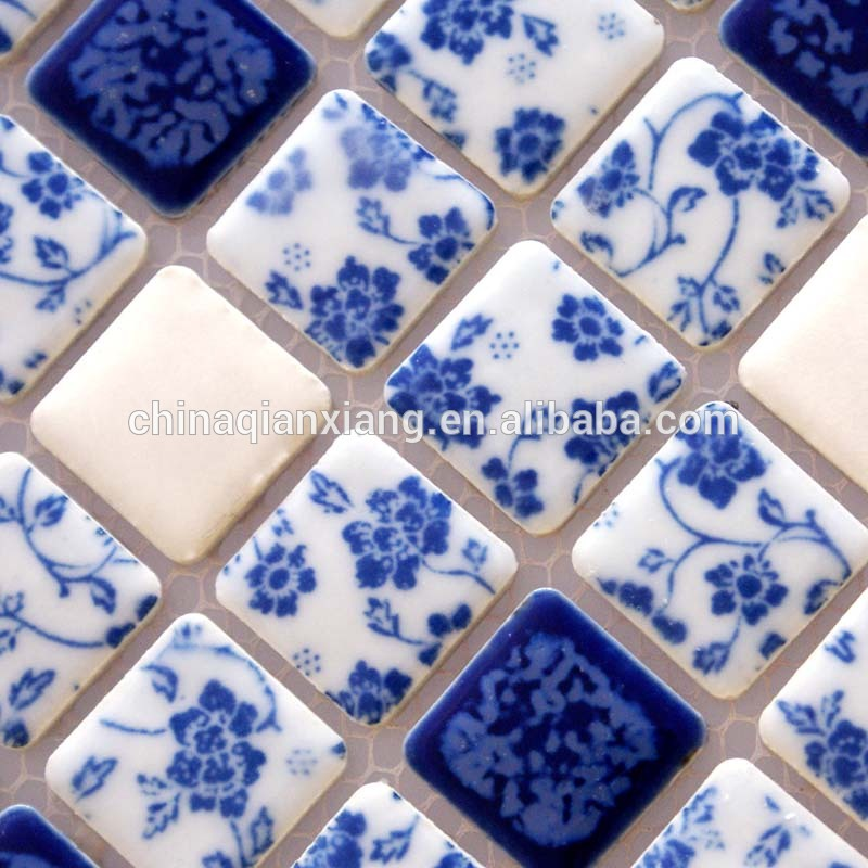 foshan factory mosaic tile,ceramic mosaic,Color glazed ceramic mosaic