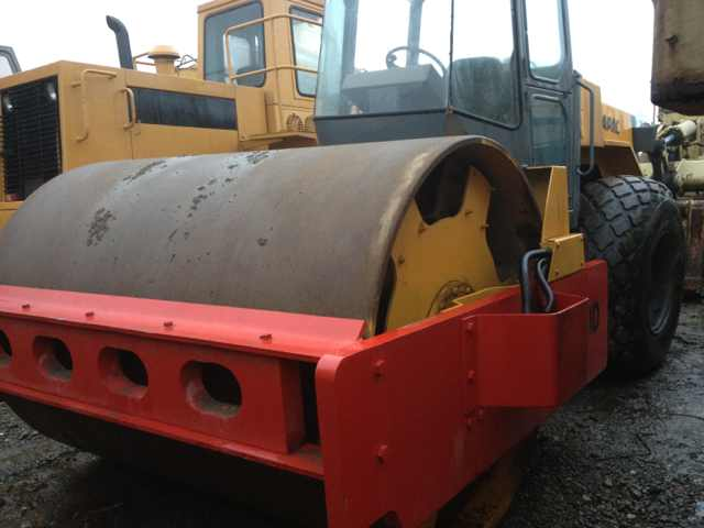 Used Dynapac CA30D single drum road roller in cheap price for sale