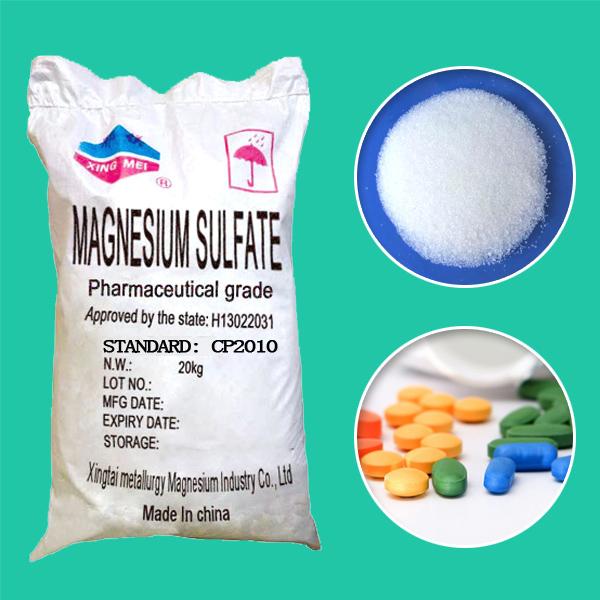 Magnesium Sulphate Pharma Grade EP USP BP GMP