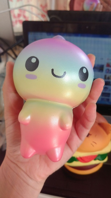 12cm gaxary color dinosaur squishy slow rising