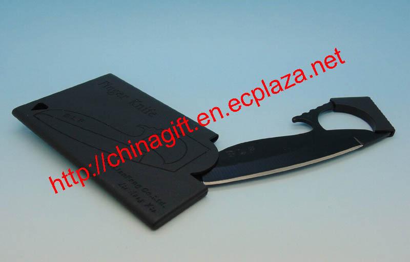 BLF Wallet Sized Credit Card Knife/Camping Knifes, Finger Blade