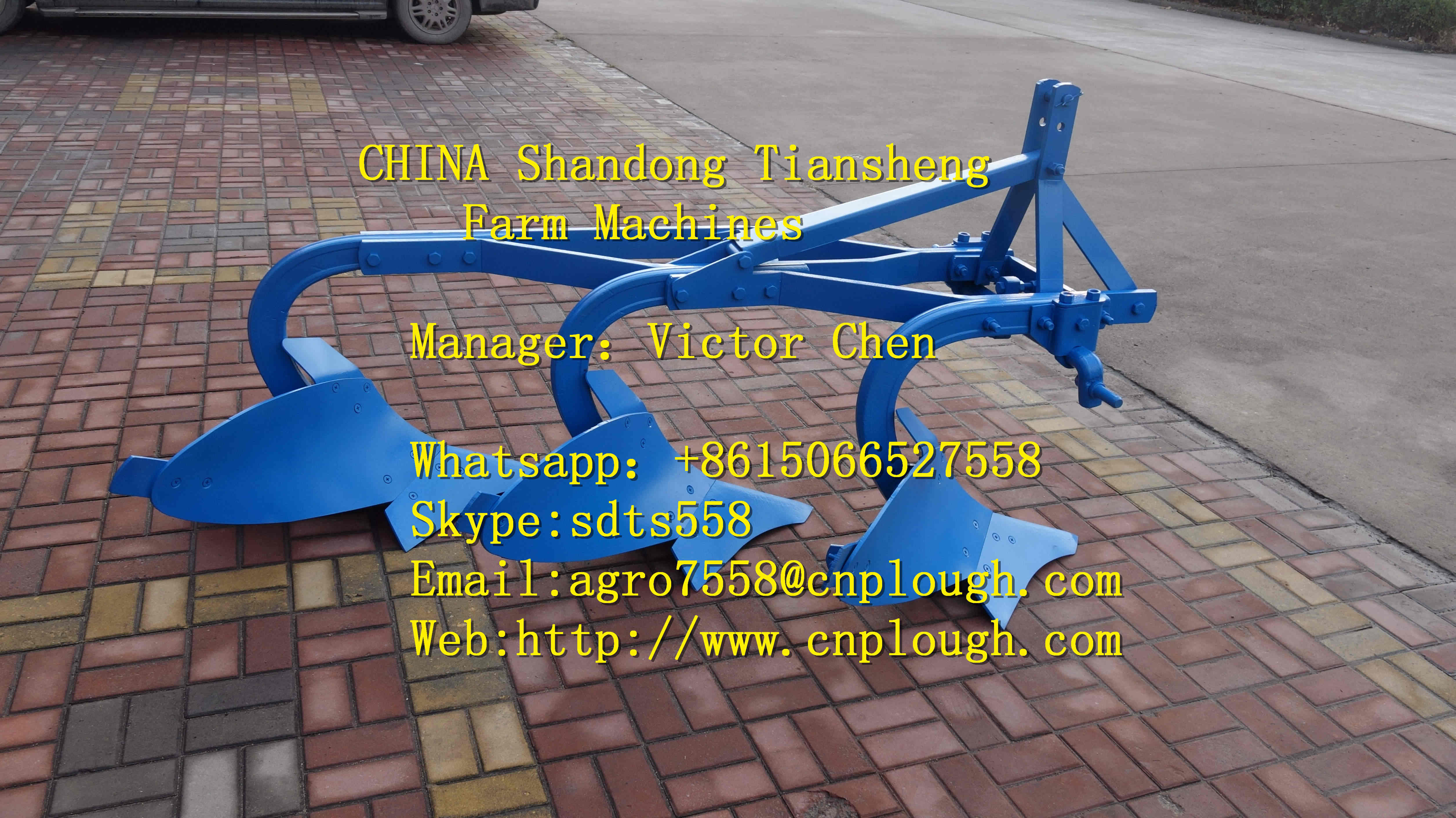 hot sale share plough for tractor