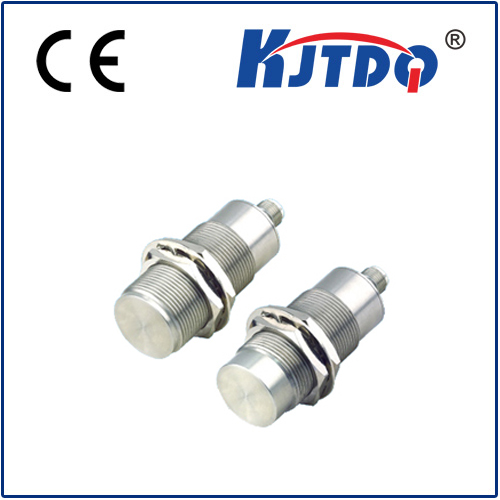 M30 full metal housing inductive proximity sensor with M12 connector