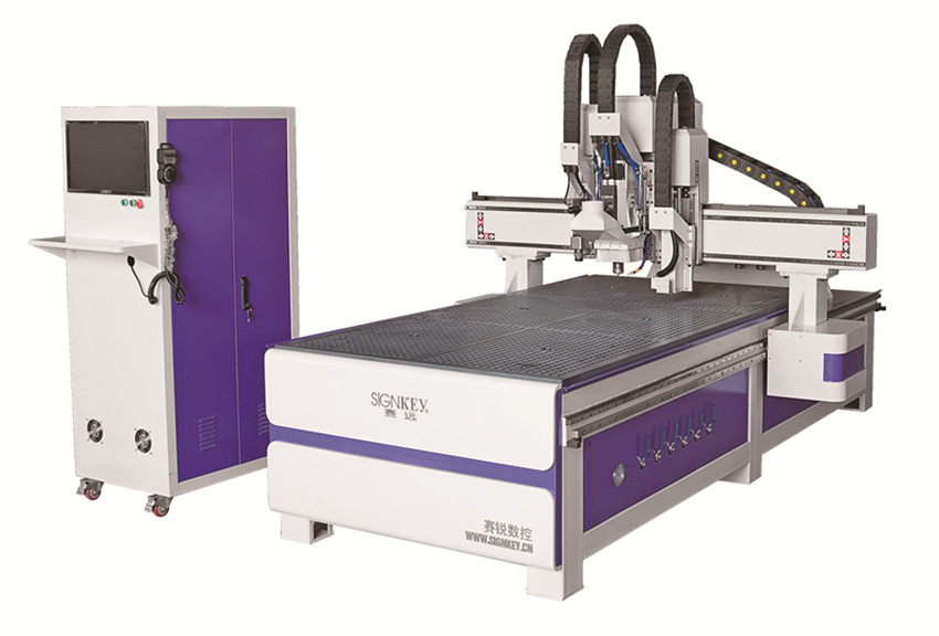 Low price high quality 4 axis cnc router , cnc wood router engraving machine