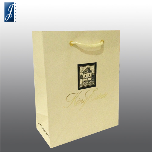 Customized small garment bag for KING ESTATE