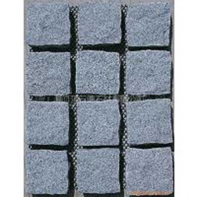 China Grey Granite G603 Paver Landscape Flamed Cobble Stone