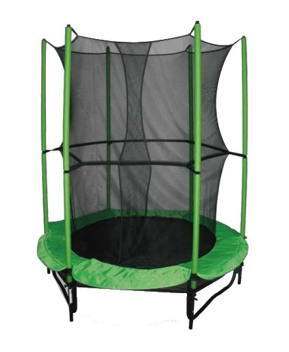 55'' Round Trampoline with enclosure net -GR