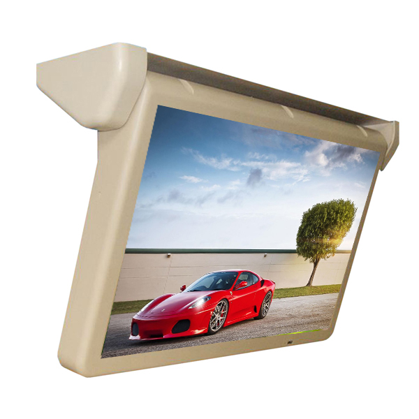 Favourable Prices 17-22 inch Car Roof Mounting lcd TV Player/Monitor