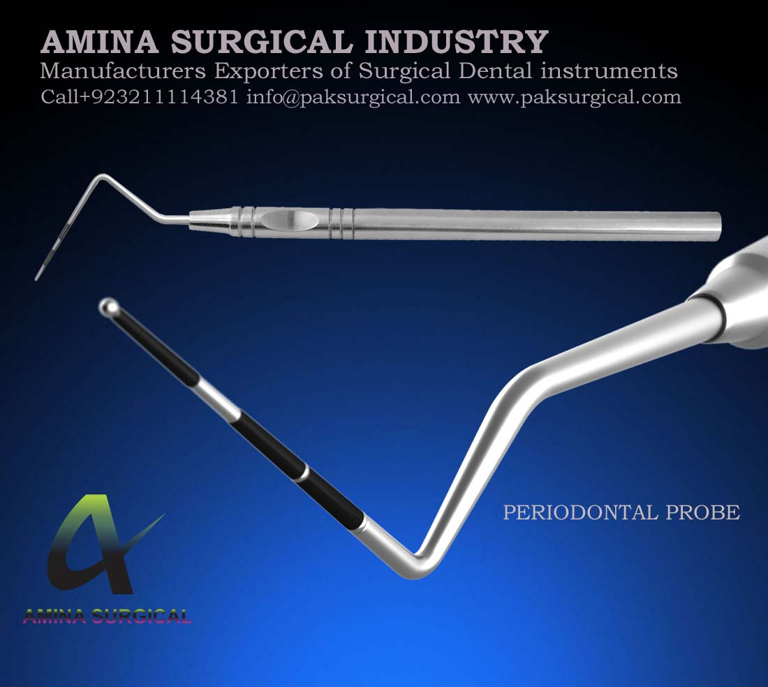 PERIODONTAL PROBE DENTAL INSTRUMENTS