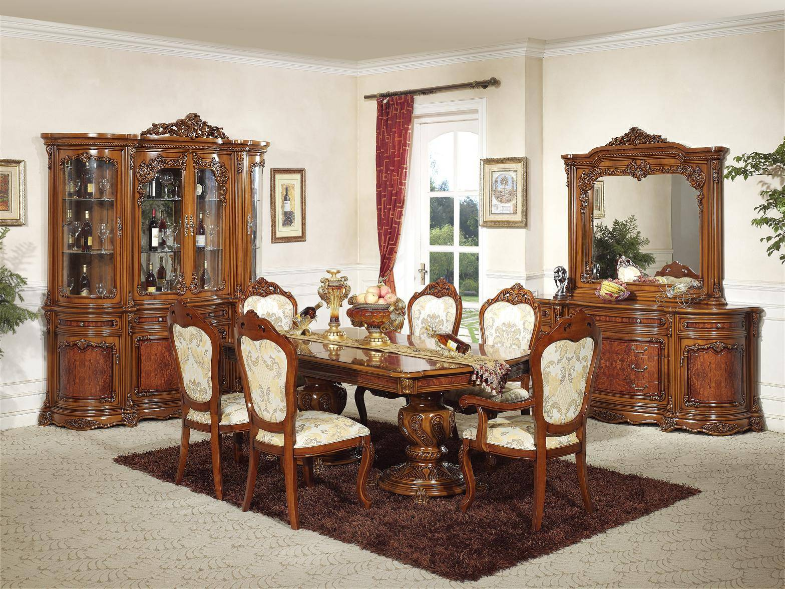 Spanish Style Dining Room Furniture - Foshan Shunde Excellence Years ...