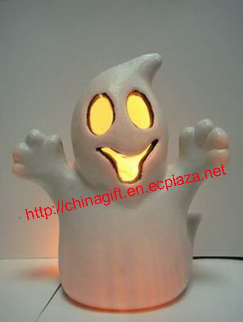 LED White Ghost Lamp