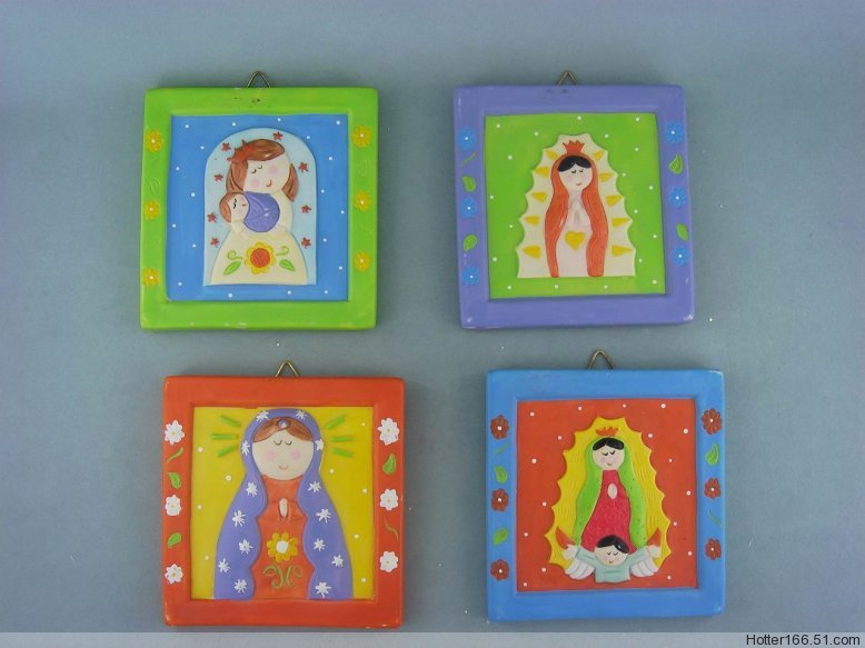 Ceramic Nativity Plaques,wall hanging plates, wall decoration,chirstmas giftwares,souvenirs,novelty